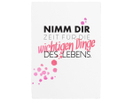 42x30cm Shabby Schild Holzschild NIMM DIR ZEIT Motivation...
