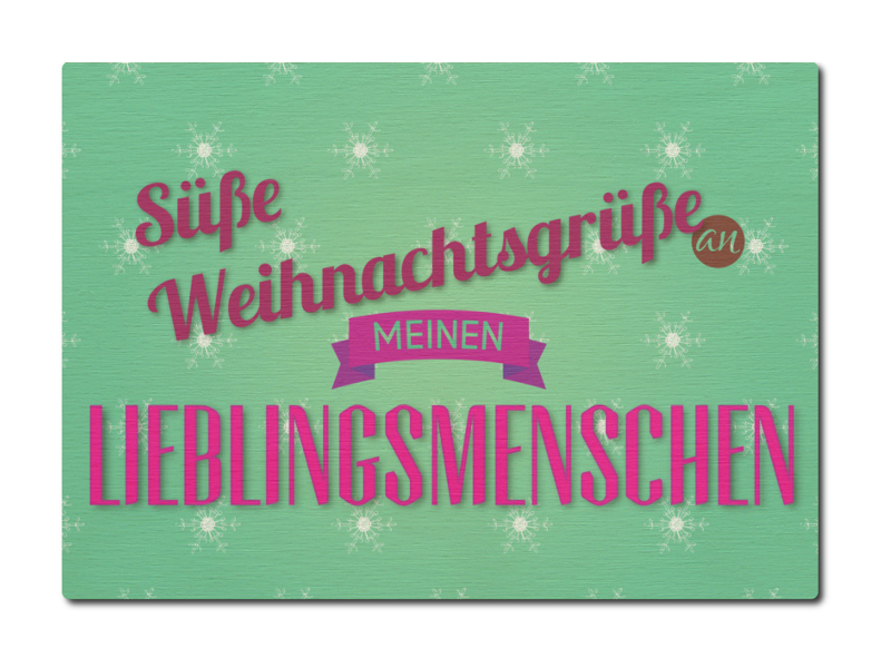 luxecards postkarte aus holz s e weihnachtsgr. Black Bedroom Furniture Sets. Home Design Ideas