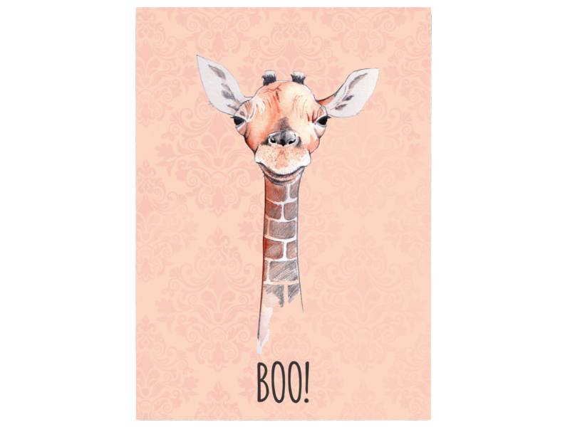 wandtafel holz dekoschild giraffe boo geschenk. Black Bedroom Furniture Sets. Home Design Ideas