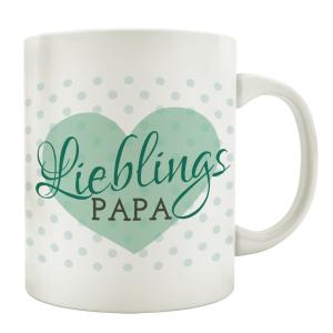 TASSE Kaffeebecher LIEBLINGSPAPA Geburtstag Spruch Lustig...