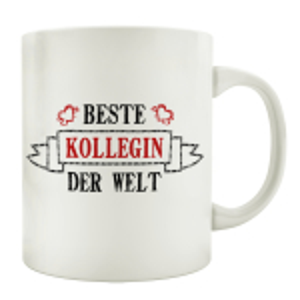 TASSE Kaffeebecher BESTE KOLLEGIN Geschenk Spruch Motiv...