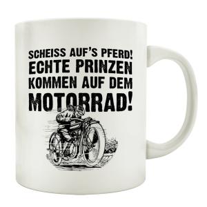 TASSE Kaffeebecher SCHEISS AUFS PFERD Teebecher Lustig...