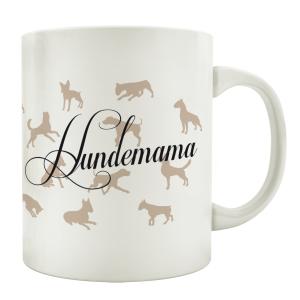 TASSE Teebecher HUNDEMAMA Geschenk Kaffeetasse...
